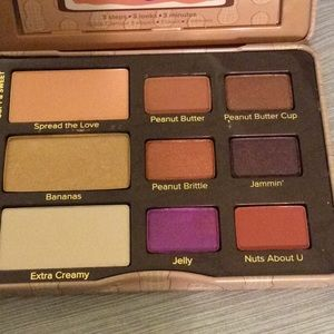 Too Faced Makeup - NIB TOO FACED Peanut Butter And Jelly Palette